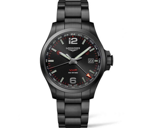 Longines Conquest V.H.P. GMT - L3.728.2.56.6