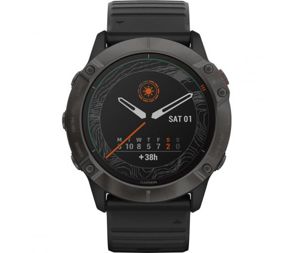 Garmin fēnix® 6X Pro Solar Titanium Black - 010-02157-21
