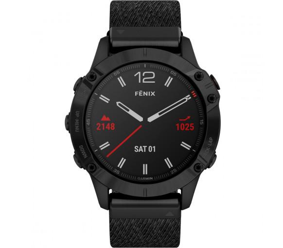 Garmin fēnix® 6 Pro Sapphire Black - 010-02158-17