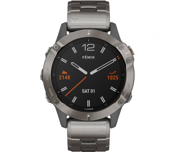 Garmin fēnix® 6 Pro Sapphire Titanium - 010-02158-23