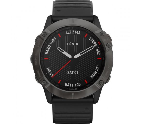 Garmin fēnix® 6X Pro Sapphire Carbon Gray Black - 010-02157-11