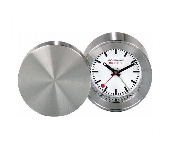 Mondaine Travel Alarm Clock - MSM.64410