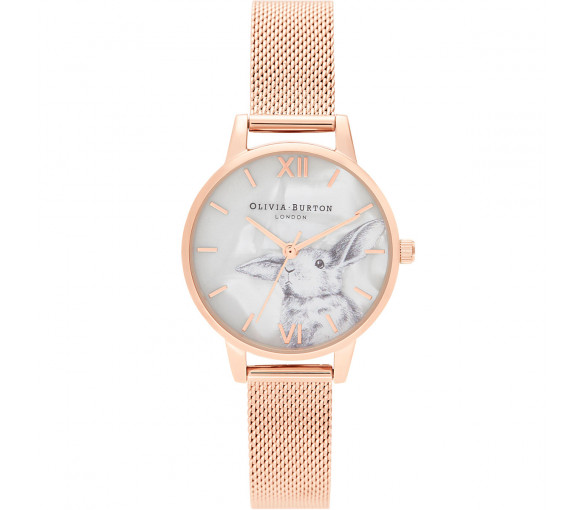Olivia Burton Illustrated Animals - OB16WL85