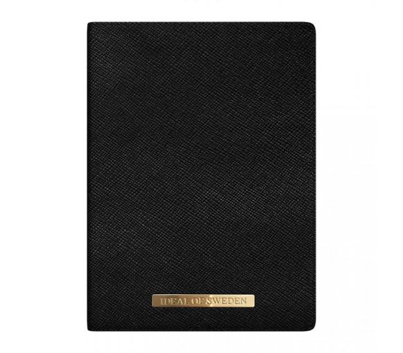 iDeal of Sweden Passport Cover Saffiano Black - IDPC-01