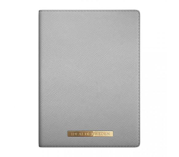 iDeal of Sweden Passport Cover Saffiano Light Grey - IDPC-62