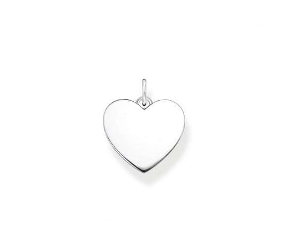 Thomas Sabo Herz Anhänger Silber - PE926-001-21