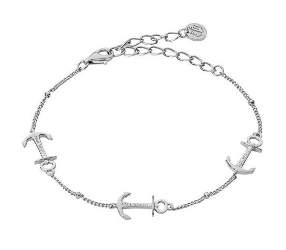 Paul Hewitt Sterling Silver Bracelet Anchor Rope Silver - PH003108