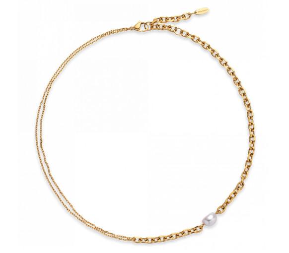 Paul Hewitt Treasure Halskette Gold mit Perle - PH003835