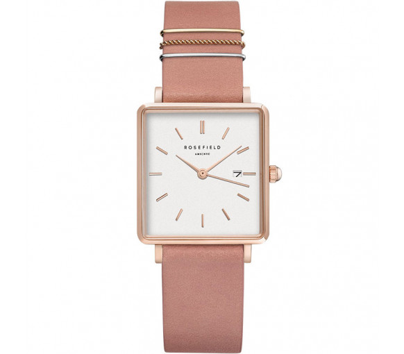 Rosefield The Boxy White Old Pink Rosegold - QOPRG-Q026