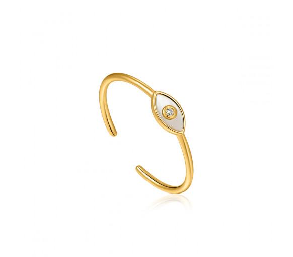 Ania Haie Evil Eye Gold Ring - R030-01G