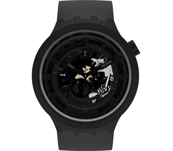 Swatch Big Bold Bioceramic Next Black - SB03B100
