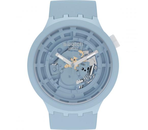 Swatch Big Bold Bioceramic Next Blue - SB03N100