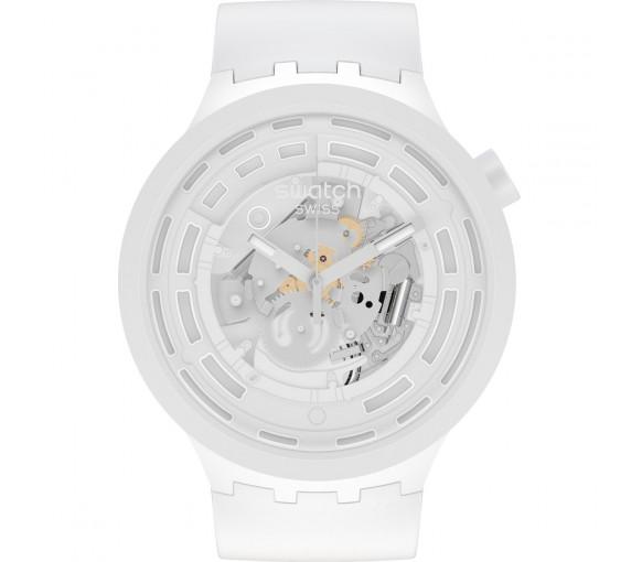 Swatch Big Bold Bioceramic Next White - SB03W100