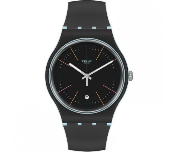 Swatch Black Layered - SUOS402