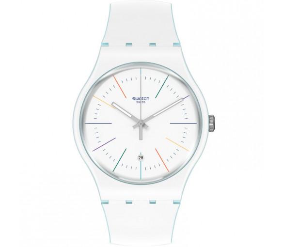 Swatch White Layered - SUOS404