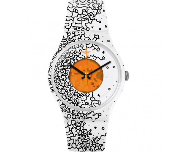 Swatch Orange Pusher - SUOW167