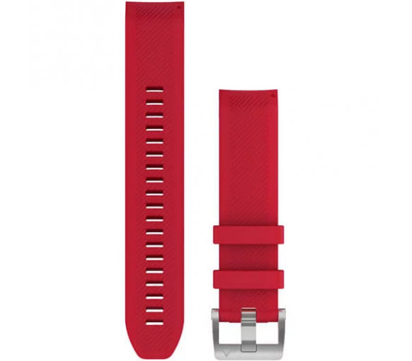 Garmin MARQ QuickFit 22 Plasma Red Silicone Band - 010-12738-17