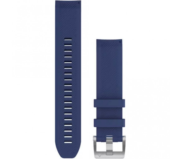 Garmin MARQ QuickFit 22 Navy Blue Silicone Band - 010-12738-18