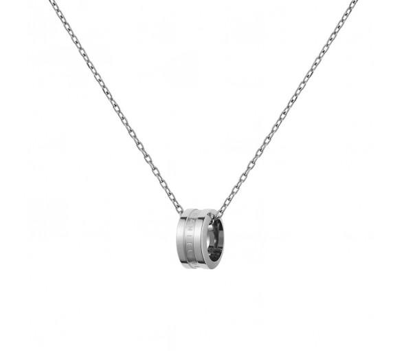 Daniel Wellington Elan Halskette Silver White - DW00400159