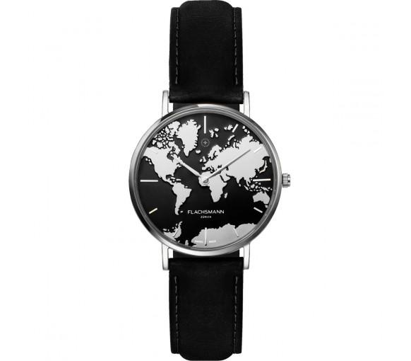 Flachsmann World Traveler De Luxe Silver Black - WT-DE Luxe 8