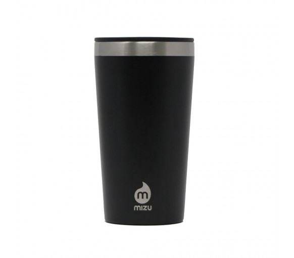 Mizu Tumbler 16 Black With Gray Straw -ML01T162.301