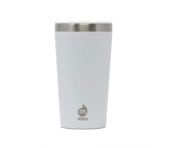 Mizu Tumbler 16 White With Spearmint Straw - ML01T162.302
