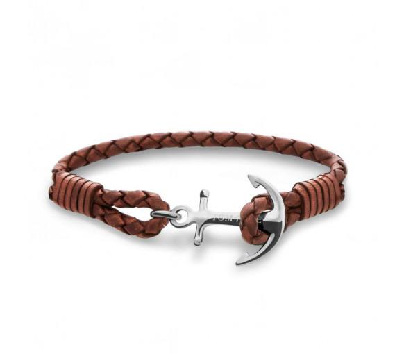 Tom Hope Cognac Brown Armband