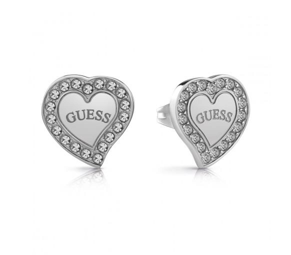 Guess Heart Warming Ohrstecker - UBE78054