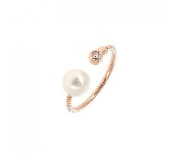 Pesavento DNA Perla Blanco Ring - WDNAA191