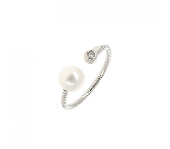 Pesavento DNA Perla Blanco Ring - WDNAA193