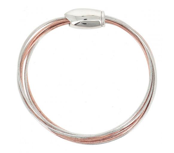 Pesavento Armband DNA Bicolor - WDNAB133