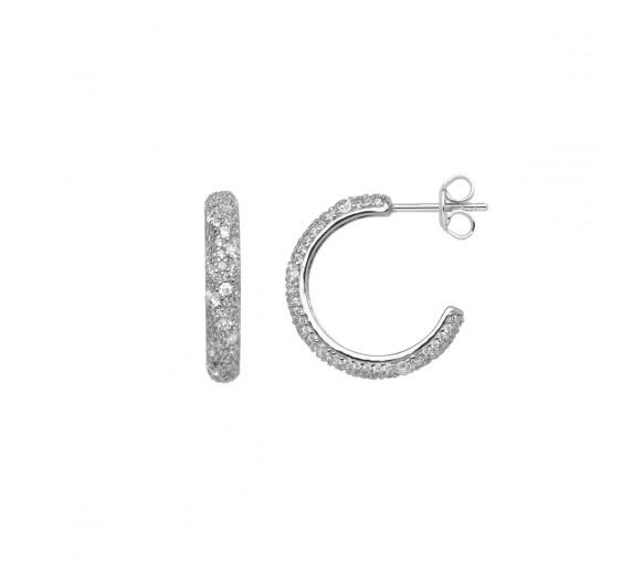 Xenox Sunrise Silver Ohrringe - XS2284