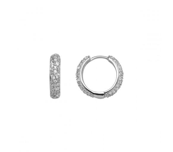 Xenox Sunrise Silver Ohrringe - XS2286