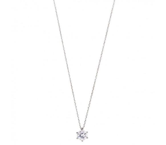 Xenox Silver Circle Halskette - XS7211
