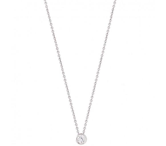 Xenox Silver Circle Halskette - XS7281