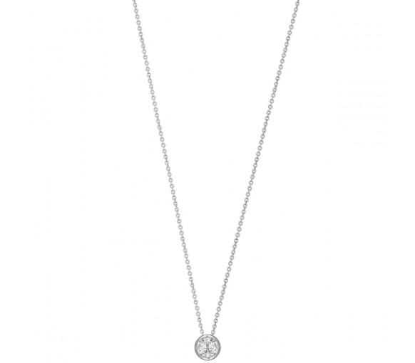 Xenox Silver Circle Halskette - XS7282