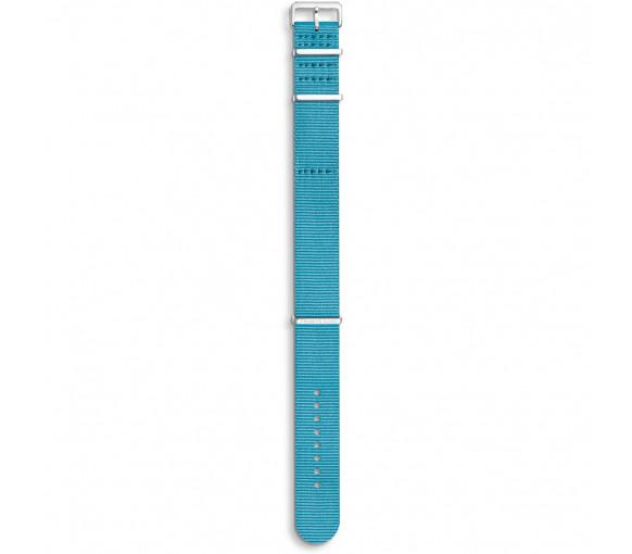 Thomas Sabo Watch Strap Code TS Nato Turquoise - ZWA0312-276-17