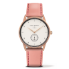 Paul Hewitt Signature Line White Ocean Rose Gold Leather Aurora - PH-M1-R-W-24