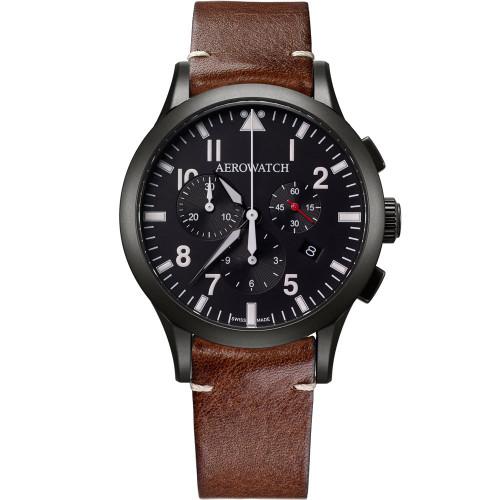 Aerowatch Les Grandes Classiques Pilote - 83966 NO03