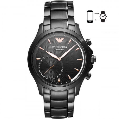 Emporio Armani Connected Alberto Hybrid Smartwatch - ART3012