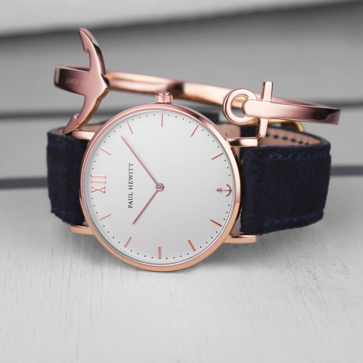 Paul Hewitt Bracelet Ancuff Rose Gold PH CU R Helen