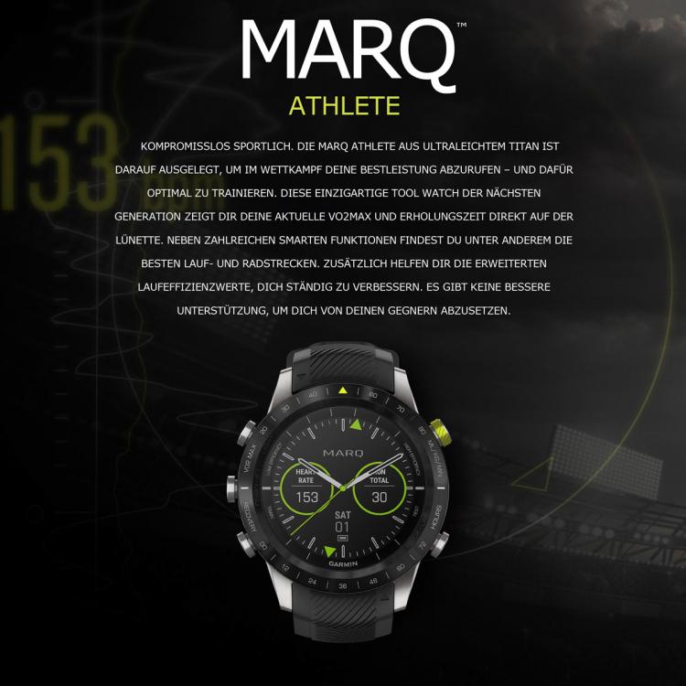 Garmin MARQ™ Athlete - 010-02006-16 - Helen Kirchhofer