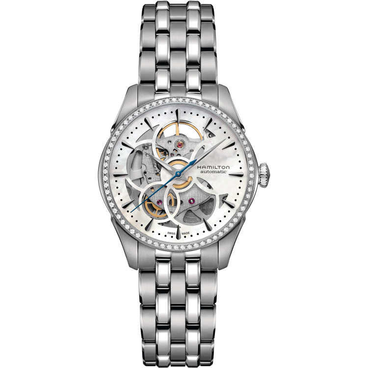 Hamilton Jazzmaster Viewmatic Skeleton Lady - H42405191 - Helen ... bbcb26836f3