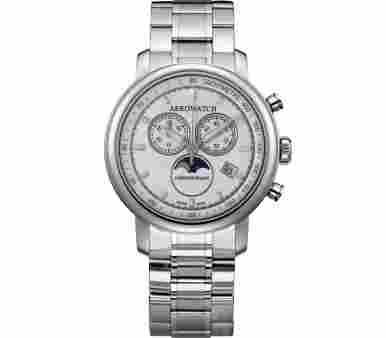 Aerowatch Renaissance Chronograph Moon-Phases - A 84936 AA04 M
