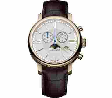 Aerowatch Renaissance Chronograph Moon-Phases - A 84936 RO02