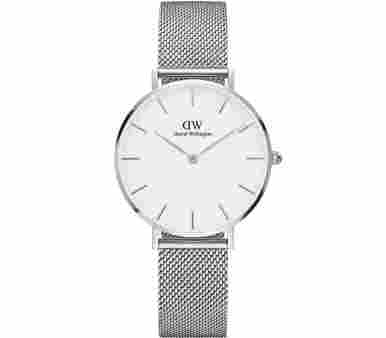 Daniel Wellington Classic Petite Sterling White
