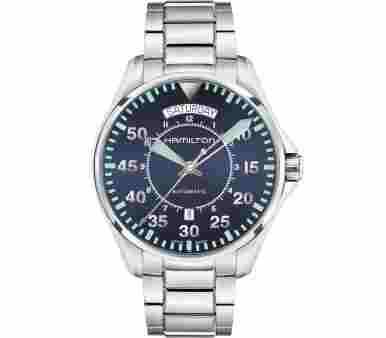 Hamilton Khaki Aviation Pilot Day Date Automatic - H64615145
