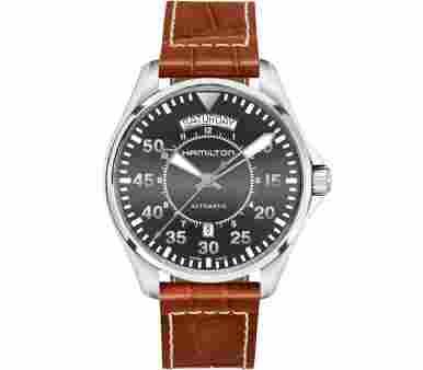 Hamilton Khaki Aviation Pilot Day Date Auto - H64615585