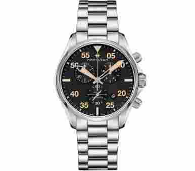 Hamilton Khaki Pilot Chrono Quartz - H76722131