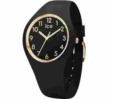 Ice Watch Ice Glam Black Gold Numbers